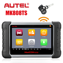Autel MaxiCom MK808TS автоматический полный TPMS инструменты Диагностика OBD2 сканирующий инструмент Автомобильный сканер автомобильный диагностический инструмент PK Maxicom MK808