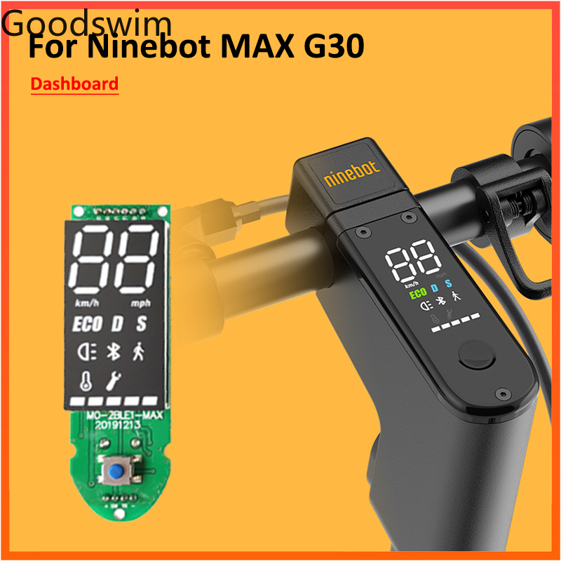 MAX G30 Dashboard For Ninebot MAX G30 Electric Scooter Circuit Board Replacement Panel Parts