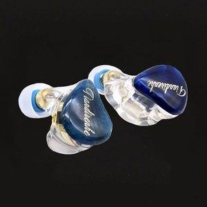 Image 2 - Tiandirenhe 1DD + 1BA لفائف الحديد الهجين سماعة مخصصة مستقرة الخشب ترقية الراتنج سماعة MMCX سماعة الأذن استبدال كابل 3
