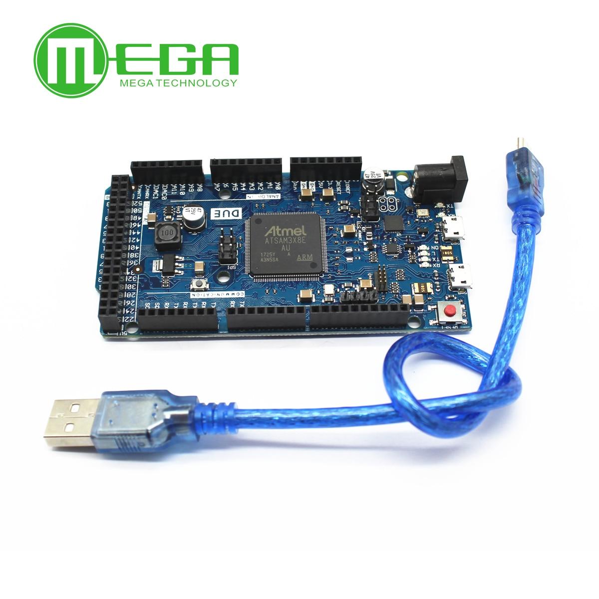 Work Good DUE R3 Board AT91SAM3X8E SAM3X8E 32-bit ARM Cortex-M3 Control Board Module  For Arduino