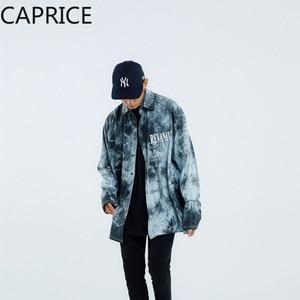 Image 5 - Hip Hop Letter Printed Mens Shirt 2019 Harajuku Fashion Streetwear Casual Cotton Oversized Male Long Sleeve Outwear
