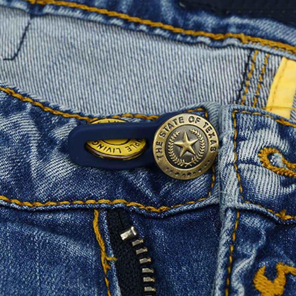 10pcs Jeans Retractable Button Adjustable Detachable Extended Button For  Clothing Jeans 2019 Belt Buckle For Men Women Ceinture Stowing Tidying  -  AliExpress
