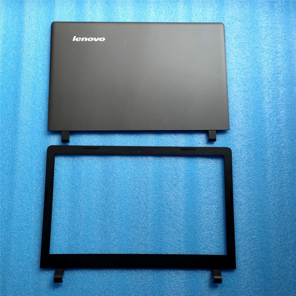 Nouveau Original pour Lenovo Ideapad 100-15 100-15IBY LCD couvercle arrière couvercle + lunette avant noir AP1HG000100 AP1ER000200