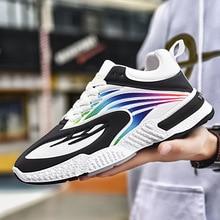 Novo estilo masculino sapatos de lazer esportes de sola grossa ao ar livre sapatos masculinos para o comércio exterior