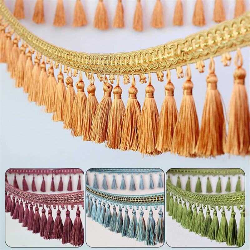 Кисточка бахрома отделка занавеска отделка для шитья ленты домашний диван обивка декор 1 м