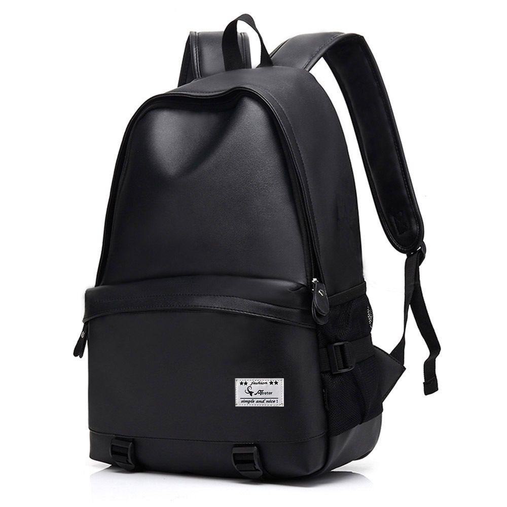 Leather Backpack Teenagers School Bag Men Women Backpack Laptop Backpack Boys Girls School Backpacks Shoulder Bag Mochila