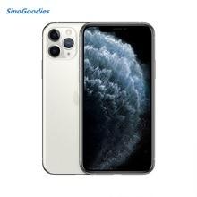 Новая китайская версия, две Sim карты, iPhone 11 pro 5,8 дюймов OLED Дисплей 4 аппарат не привязан к оператору сотовой связи комплексный широкополосный канал передачи данных камеры смартфона 64/256/512 ГБ Встроенная память A13