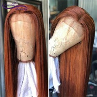 13*4 Lace Front Human Hair Wigs With Baby Hair 180Density Medium Ratio Straight Brazilian Remy Hair Lace Front Wigs Dream Beauty