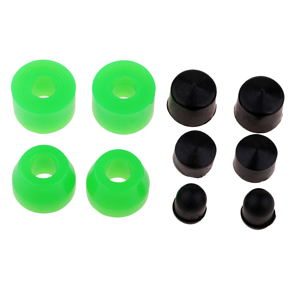 Hardware Set, Skateboard Longboard Truck Replacement Bushings And Pivot Cups For 2 Trucks, PU, 85A
