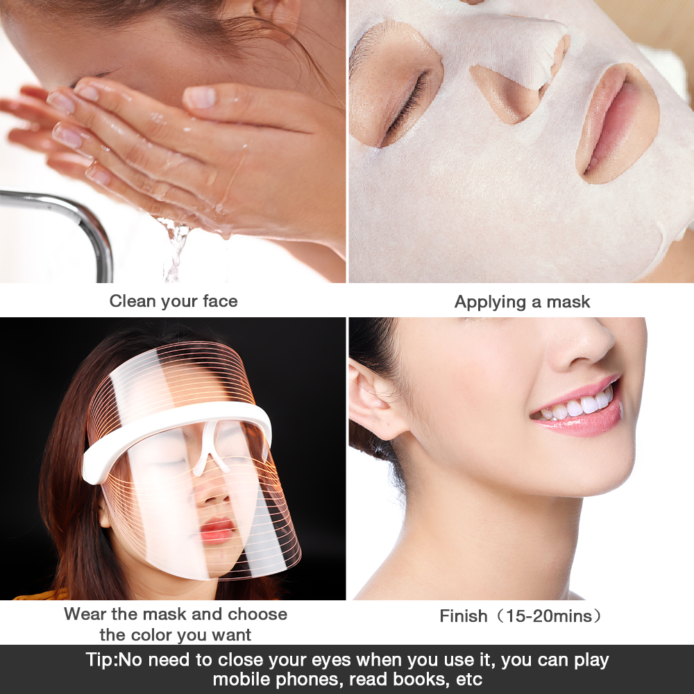 when to use acne light