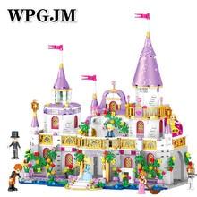 731Pcs Compatible Legoinglys Friends Princess Castle Windsors DIY Model Building Blocks Bricks Kit Toys Girl Gifts