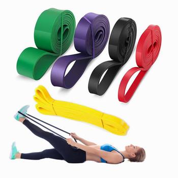 Taśmy oporowe 208cm Fitness opaski gumowe Unisex joga opaski elastyczne Loop Gym Expander do ćwiczeń sprzęt sportowy tanie i dobre opinie Kompleksowe fitness ćwiczenia Ciągnąć liny 80237 Natural Latex Powerlifting