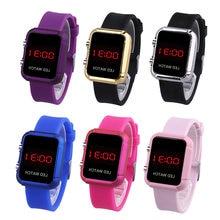 Водонепроницаемые Детские светодиодные спортивные цифровые часы