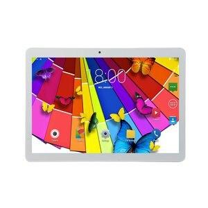 Планшет с круглым отверстием KT107, 10,1-дюймовый большой экран, версия Android 8,10, модный портативный планшет 8 ГБ + 64 ГБ, розовый планшет с розовым р...
