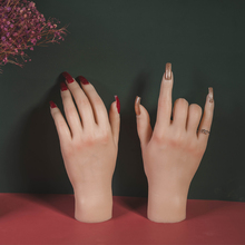 Hand-Model Moveable-Nails Fake-Hand Tgirl 3D Mannequin Adult with Flexible Finger-Adjustment