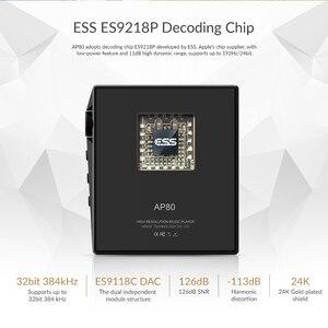 Image 2 - Hidizs AP80 היי Res ES9218P Bluetooth HIFI מוסיקה MP3 נגן LDAC USB DAC DSD 64/128 FM רדיו HibyLink FALC DAP