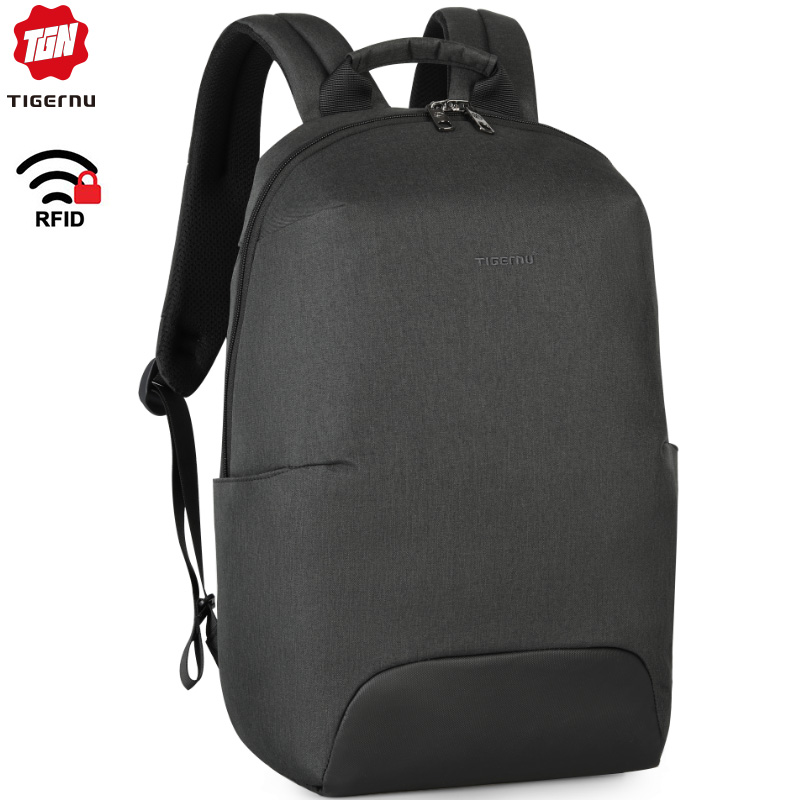 Tigernu New Design Fashion Anti Theft RFID 15.6 Inch Laptop Men Backpack Large Capacity Light Weight Travel School Backpack Bags