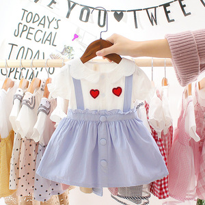 Baby Girls Summer Dress For Newborn Kids Clothes New Cute Infant Princess 1st Birthday Baby Dress Toddler Girl Clothing Dresses(China)