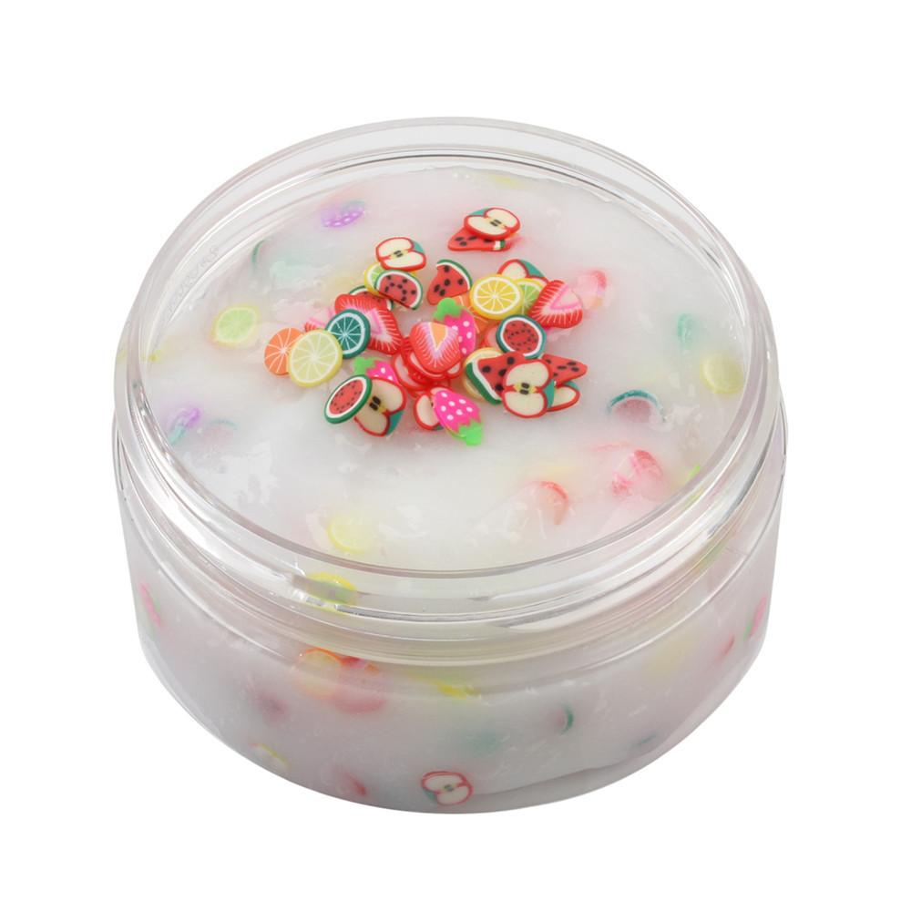 Polymer Clay Antistress Mood Pressure Relief Toy Mixing Cloud Slime Transparent Slime Toys Crystal Glue Stress Relief #B