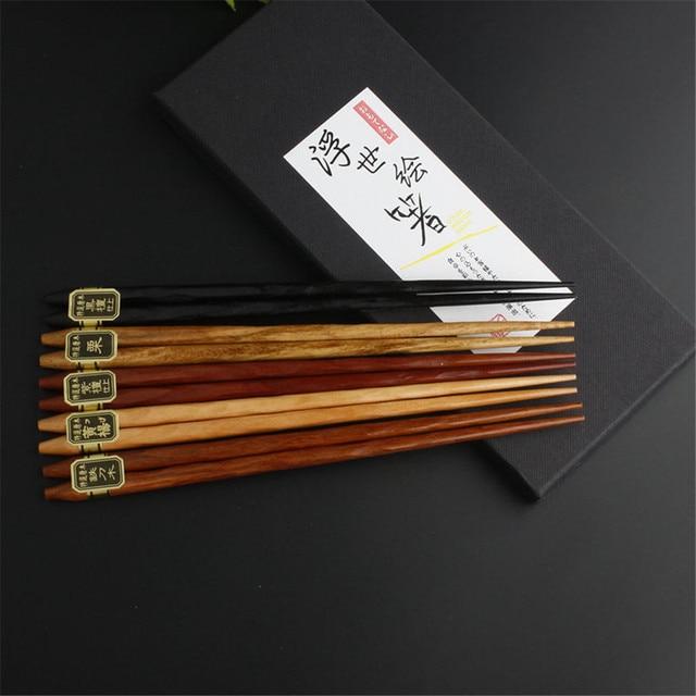 Купить новинка 5/20 пар японские корейские многоразовые палочки для картинки цена