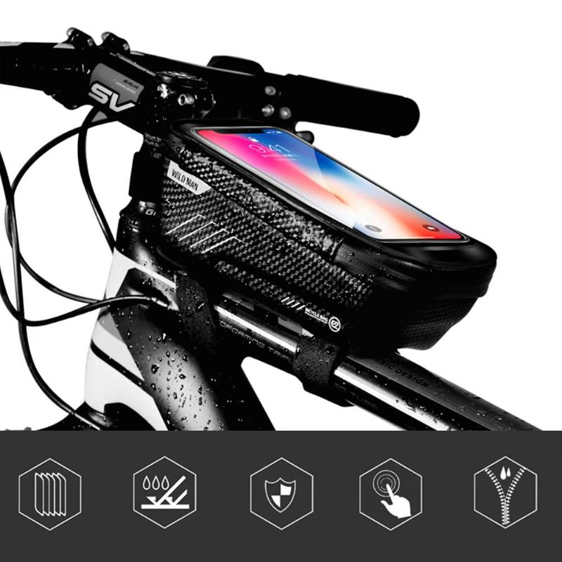 Multi Function Bicycle Bags Mobile Phone Bag For Mountain Bike Accessories New
