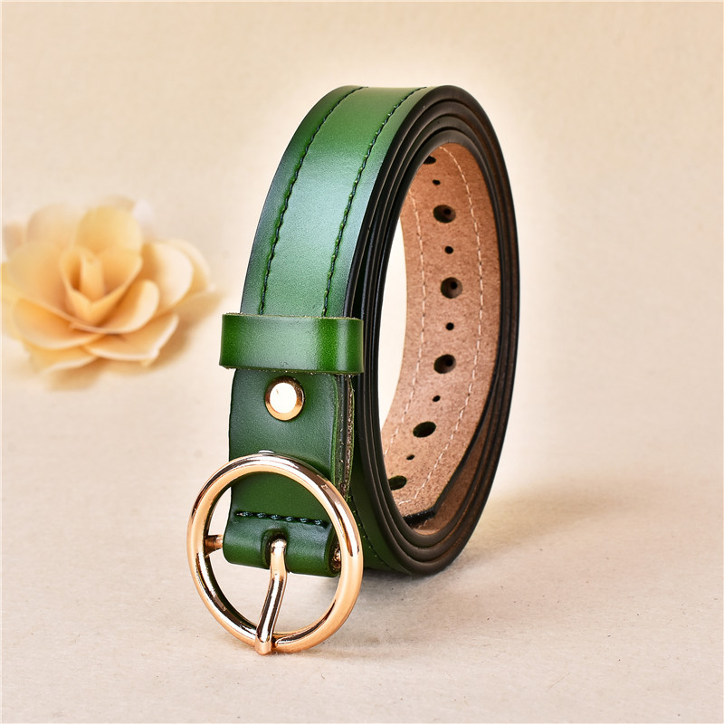 New Ladies Fashion Casual Wild Simple Belt
