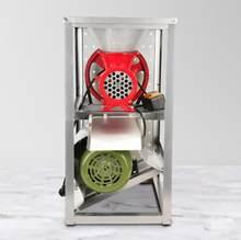 Hachoir à viande électrique Fission émincé poulet étagère os cassés machine moudre poivre lavement 2.2 KW moteur simple ceinture