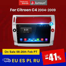 Junsun V1 pro 2G + 128G Android 10 Für Citroen C4 C-Triomphe C-Quatre 2004 - 2009 auto Radio Multimedia Video Player GPS 2 din dvd