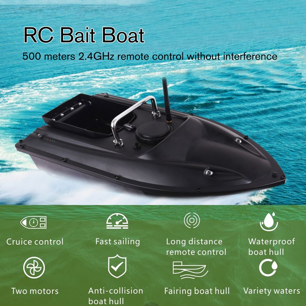 Electric Wireless RC Fishing Finder Ship Remote Control Bait Boats Lure Boat UK