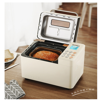 Household Bread Maker Machine Electric Bread Toaster Fully Automatic Intelligent Noodle Fermentation Bread Baking Machine bread machine the bread maker uses fully automatic and multifunctional intelligence sprinkled with fruit cake