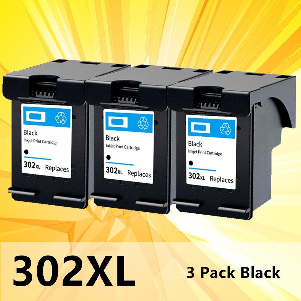 Черный картридж с чернилами 302XL для HP 302 XL для hp 302 для принтера HP Deskjet 2130 2135 1110 3630 Officejet 3632 3830