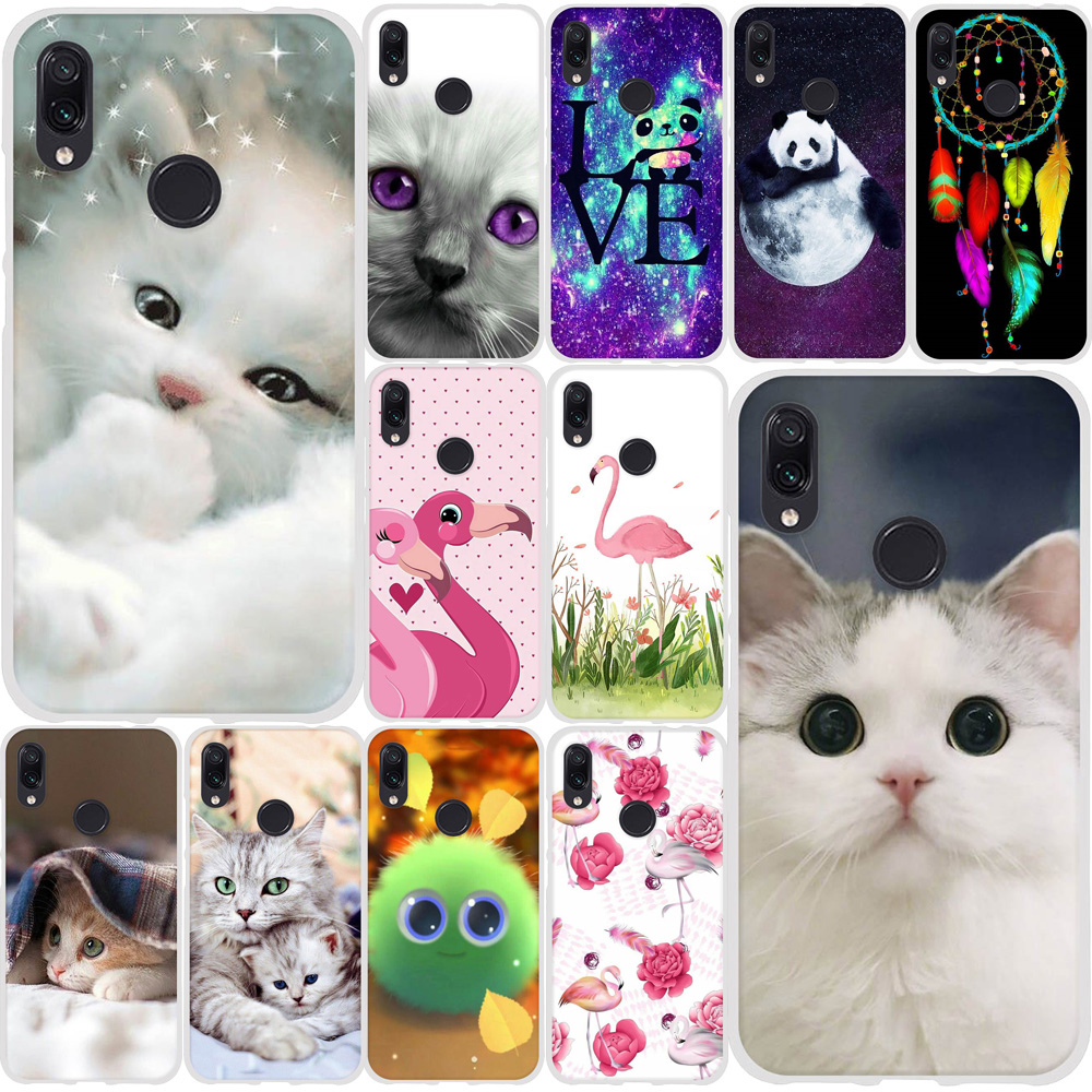 Phone <font><b>Case</b></font> For Xiaomi <font><b>Redmi</b></font> <font><b>Note</b></font> 7 <font><b>Case</b></font> Cute Cats Animal Silicone <font><b>TPU</b></font> For <font><b>Xiomi</b></font> <font><b>Redmi</b></font> <font><b>note</b></font> 7 Pro <font><b>Case</b></font> <font><b>Redmi</b></font> <font><b>Note</b></font> 4 <font><b>note</b></font> <font><b>4x</b></font> Cover image