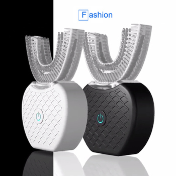 V white USB Automatic Electric Toothbrush 360 Degrees Ultrasonic Vibration Electric Toothbrush Teeth Whitening Beauty Instrument 2