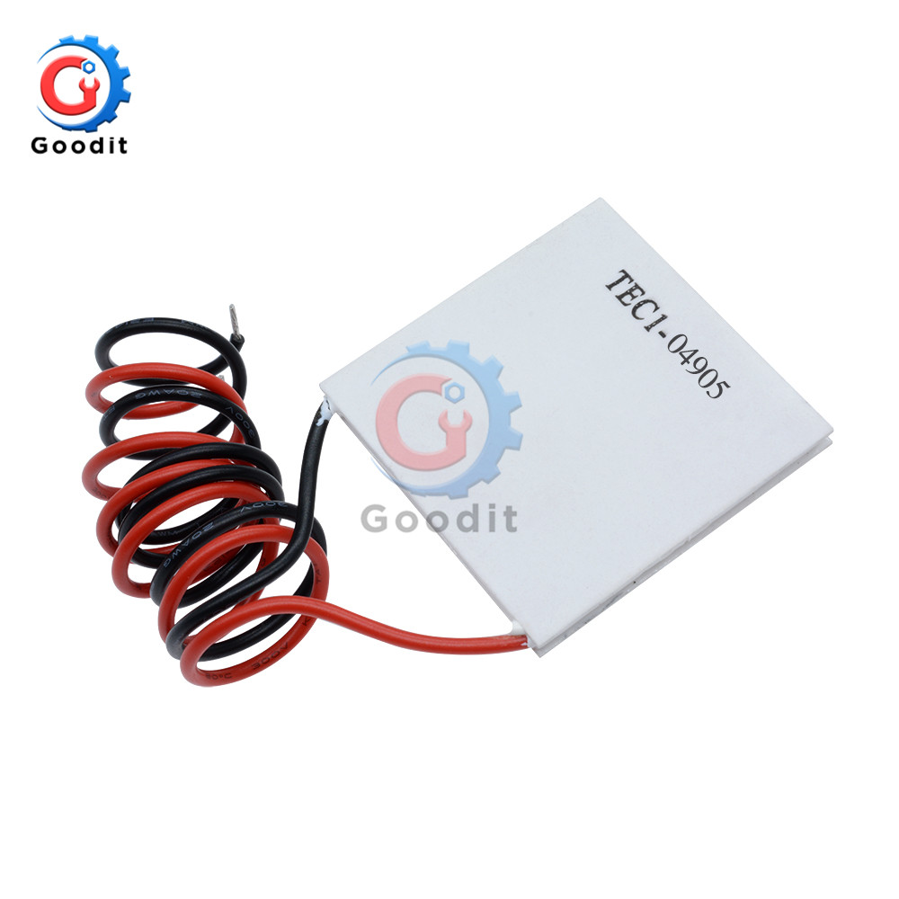 Tec1-04905 Dc 5V 19.4W Heatsink Thermoelectric Cooler Cooling Peltier Module