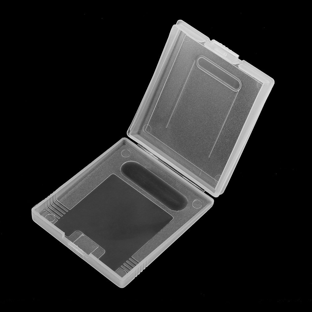 Clear Plastic Game Cartridge Cases Storage Box Protector Holder Dust Cover Replacement Shell For Nintend GameBoy GB GBC GBP Hot!
