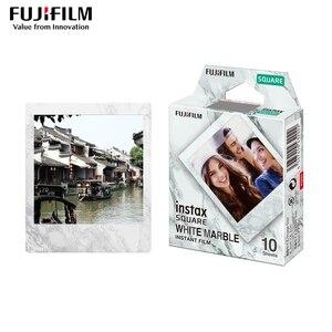 Image 3 - Ban Đầu Bộ Máy Chụp Ảnh Lấy Ngay Fujifilm Instax Vuông Trắng Tức Thì Edge Bộ Phim 10 Tấm Cho Fuji SQ10 SQ20 SP3 Lai Định Dạng Máy Ảnh
