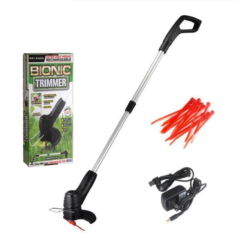 Profissional cortadores de grama elétrica portátil cortador de grama cortador de grama agrícola sem fio ferramenta de poda jardim cortador de escova