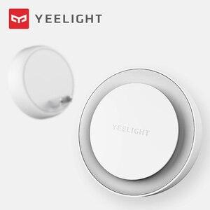 Image 2 - Yeelight مصباح ليلي led التعريفي ، إصدار إضافي ، مصباح سرير ، لغرفة نوم الأطفال ، الممر ، أحدث إصدار