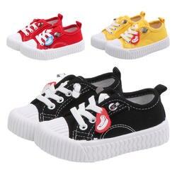 Детские ботинки; дышащая парусиновая обувь; обувь для мальчиков; 4 цвета; удобные кроссовки для маленьких девочек; детская обувь для малышей