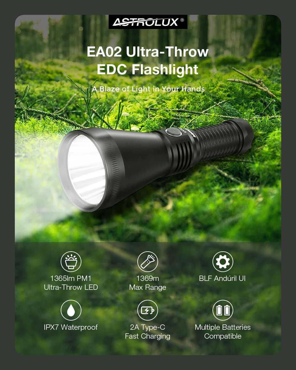 usb recarregável poderosa, luz de acampamento, lanterna de busca