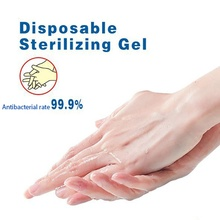 Quick-drying No Clean Waterless Gel Sanitizer Anti-bacteria Moisturizing Defense Cleaner Hand Soaps