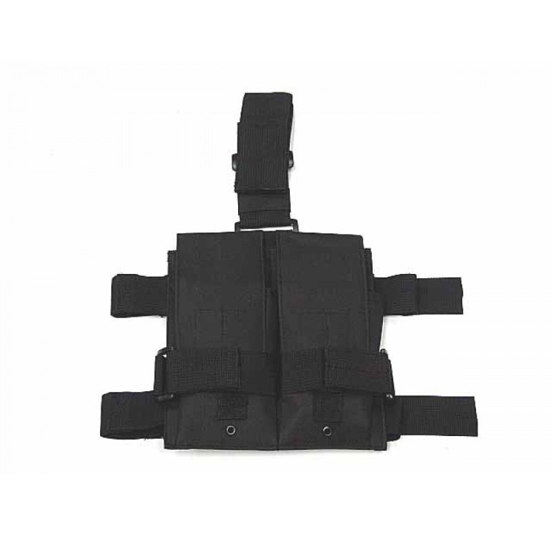 Outdoor Tactical Equipment Multi-functional Army Fans Duplex Accessory Kit Leggings Protective Case Nylon Waterproof Leg Sleeve