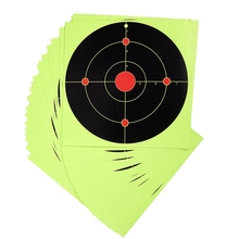 50Pcs/Set Hunting Targets Self Adhesive Paper Reactive Splatter Stickers