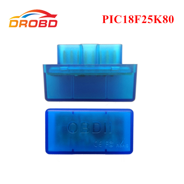 Diagnostic tool OBD2 ELM327 V1.5 with PIC18F25K80 chip Mini ELM 327 Version 1.5 Bluetooth 3.0 for Android Code Reader