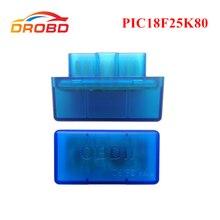 진단 도구 OBD2 ELM327 V1.5 PIC18F25K80 칩 미니 ELM 327 버전 1.5 블루투스 3.0 안드로이드 코드 리더