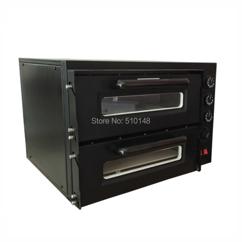 Promotion NB400 four à pizza électrique 300 degrés cuisson pizza machine feu pierre four à pizza restaurant