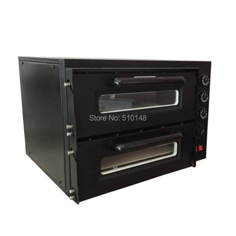 Promotion four à pizza électrique NB400 300 degrés cuisson machine à pizza feu pierre four à pizza restaurant