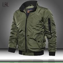 Cazadora Bomber militar para hombre, prendas de vestir tácticas, chaqueta cortavientos ligera transpirable, abrigo de piloto de la Fuerza Aérea del Ejército