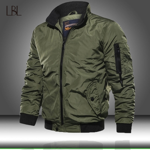 Image 1 - Men Military Bomber Jacket Mens Tactical Outwear Breathable Light Windbreaker Jackets Man Army Air Force Fly Pilot Coat Clothing