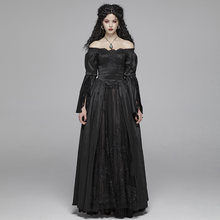 Женское платье в стиле панк готическое викторианское великолепное